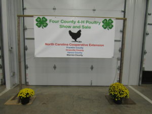 4 county poultry show banner