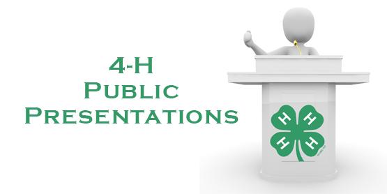 4-H Presentations logo