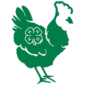 4-H Chicken Logo