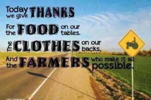 Cover photo for Thank YOU Farmers!!