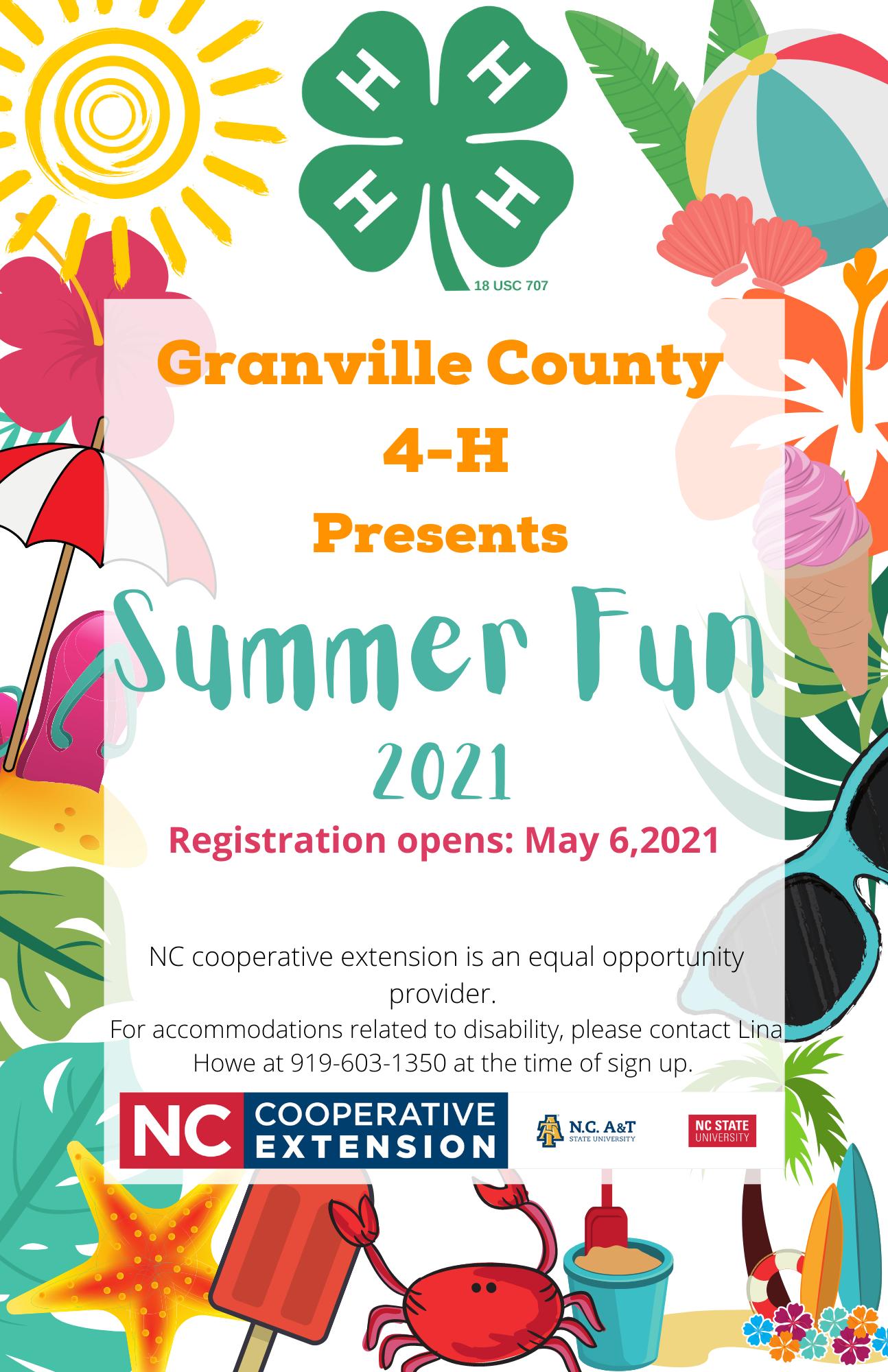 Summer Fun flyer image
